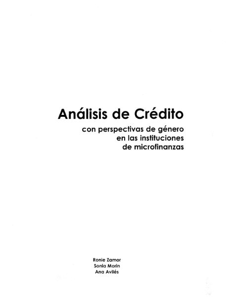 analisiscred