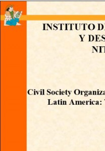 civil society organization